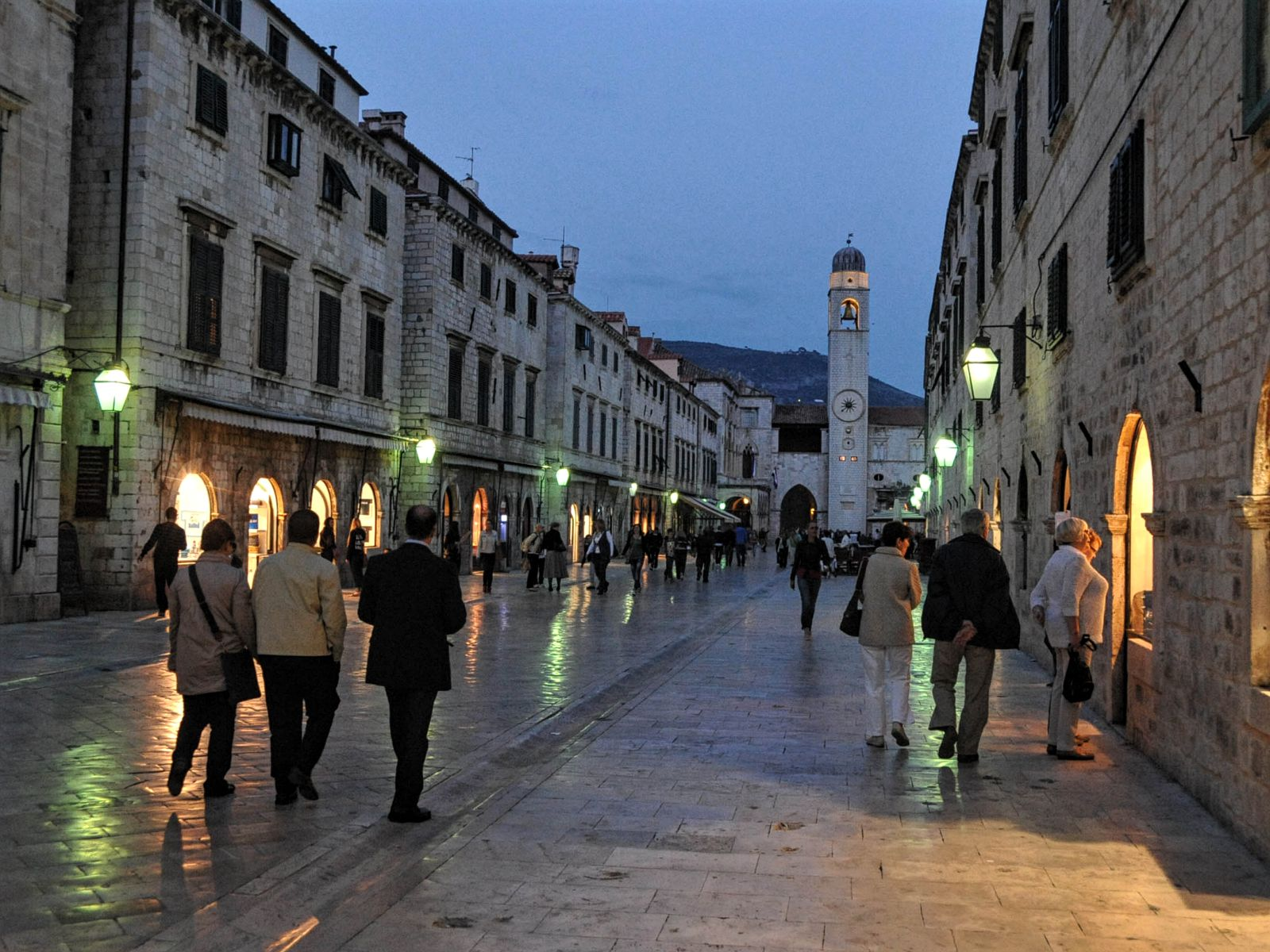Dubrovnik City Walk 2016 - Palaces, Streets and Squares