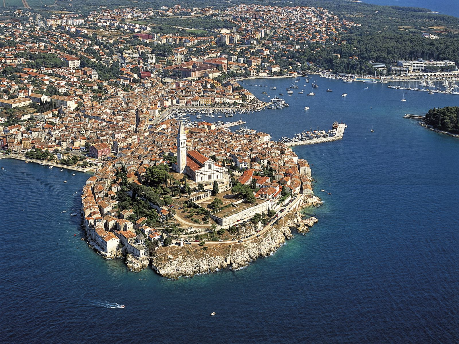 Top tourist attractions in Istria
