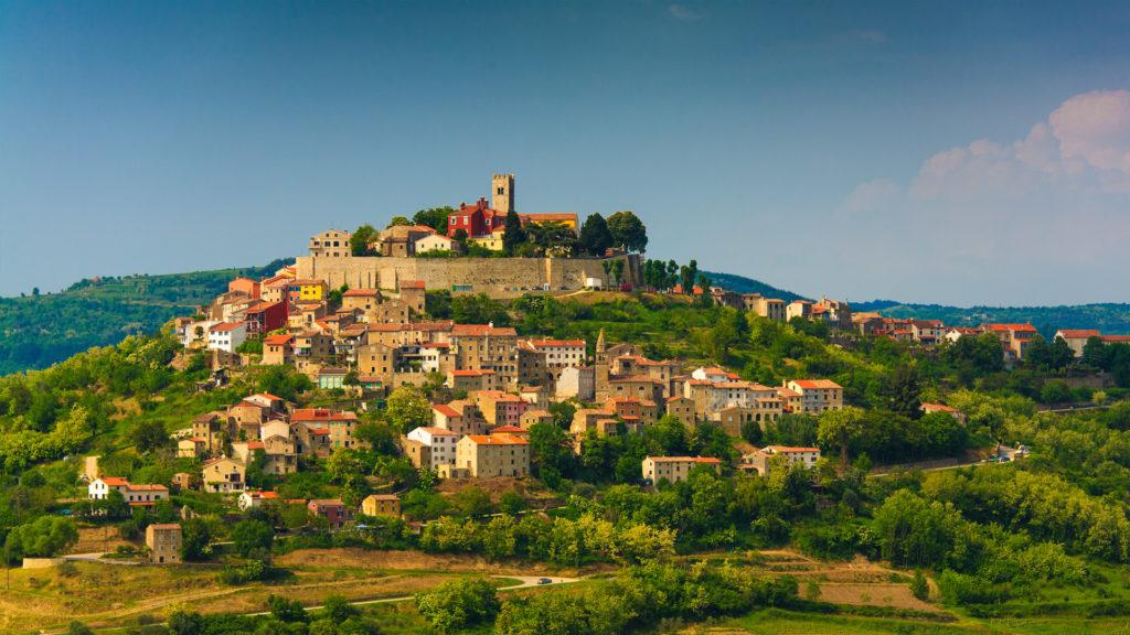 Motovun, Istria, Croatia, photo by Zoran Jelaca