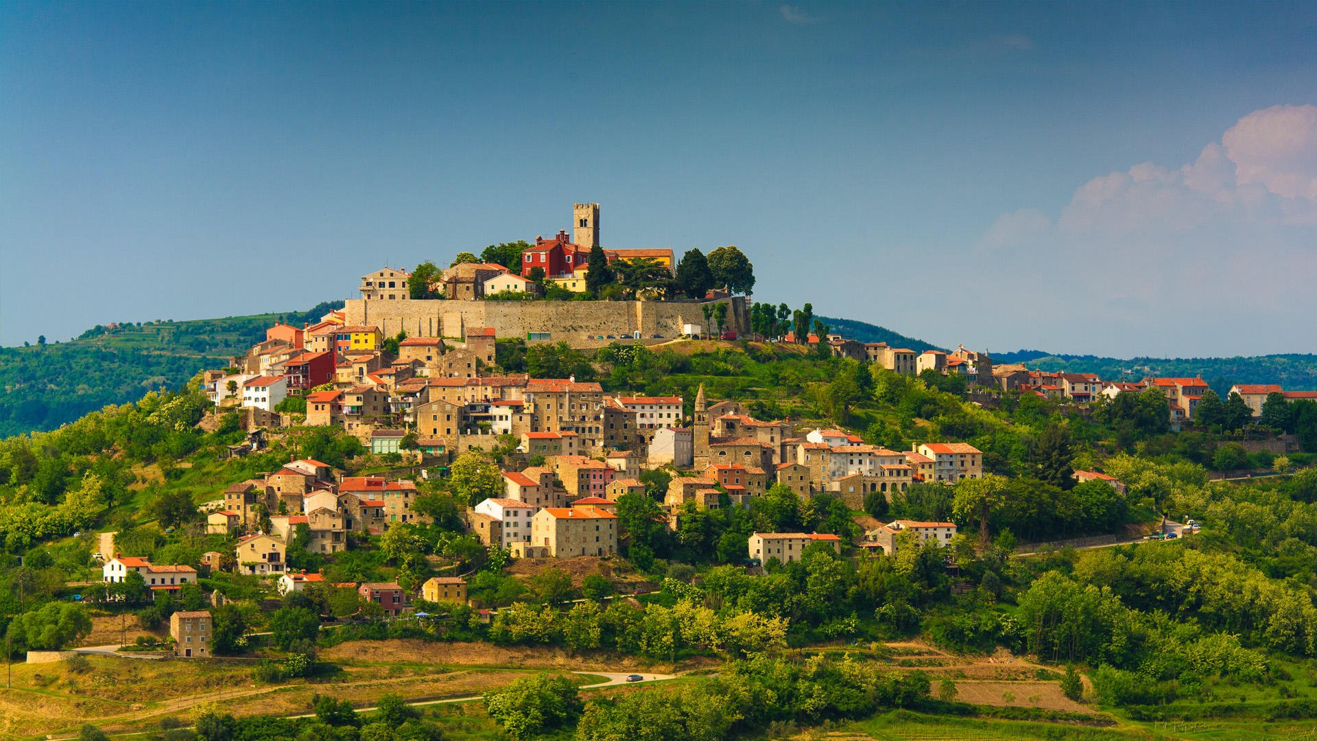 Motovun, Istria, Croatia, photo by Zoran Jelaca