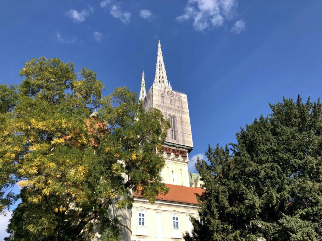 Zagreb cathedral, photo by Matko M. Švarc