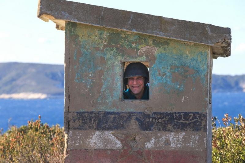 Military tour, Vis island, Croatia