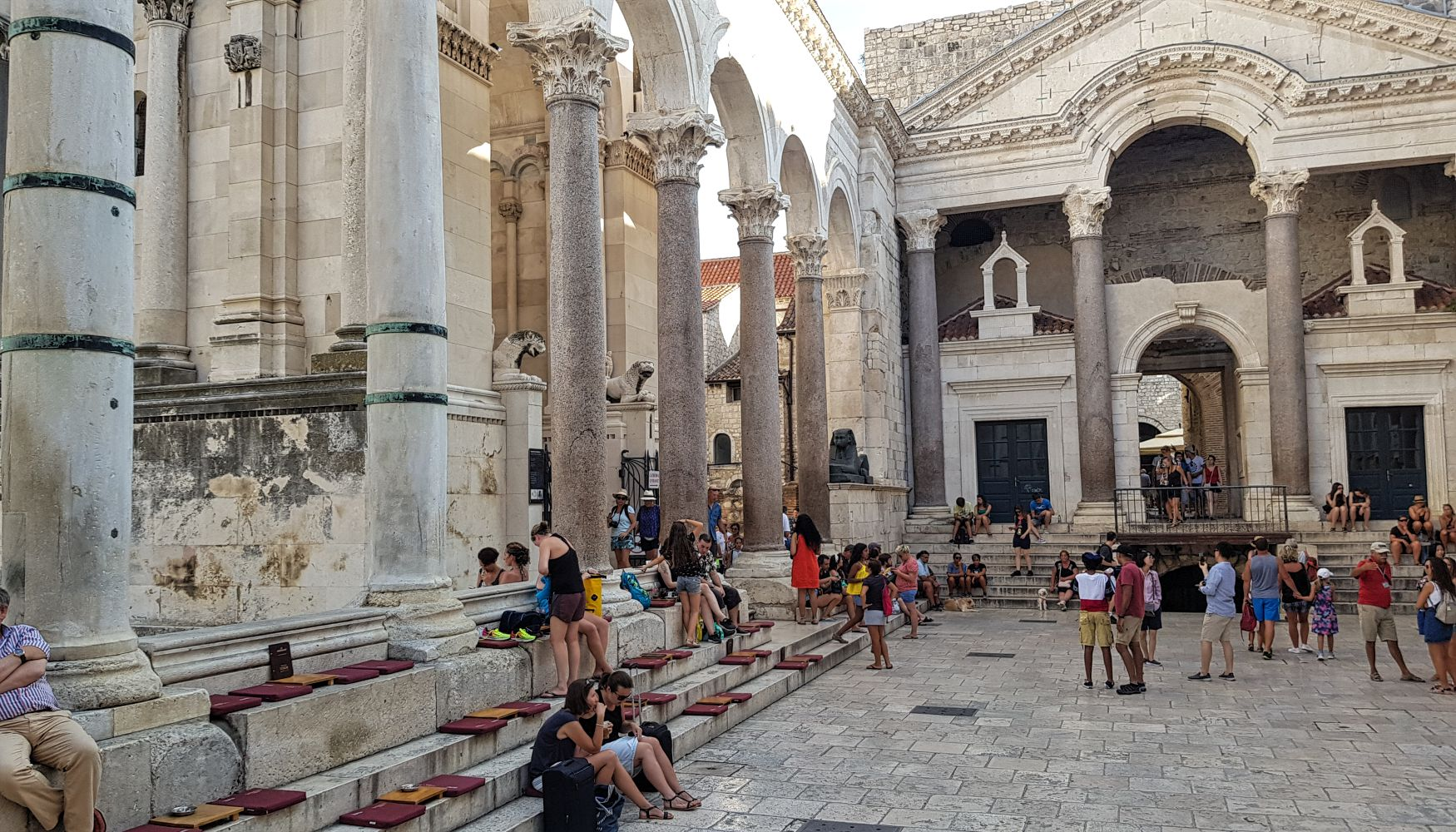 Croatian-attractions-Split-Diocletian-palace