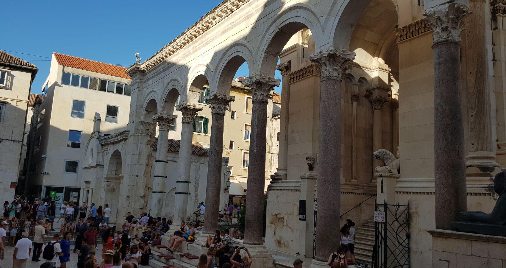 Croatian Attractions, Split, Diocletian Palace, Croatia