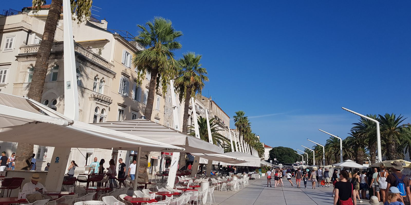 Riva, promenade of Split, Croatia, photo by Croatian Attractions
