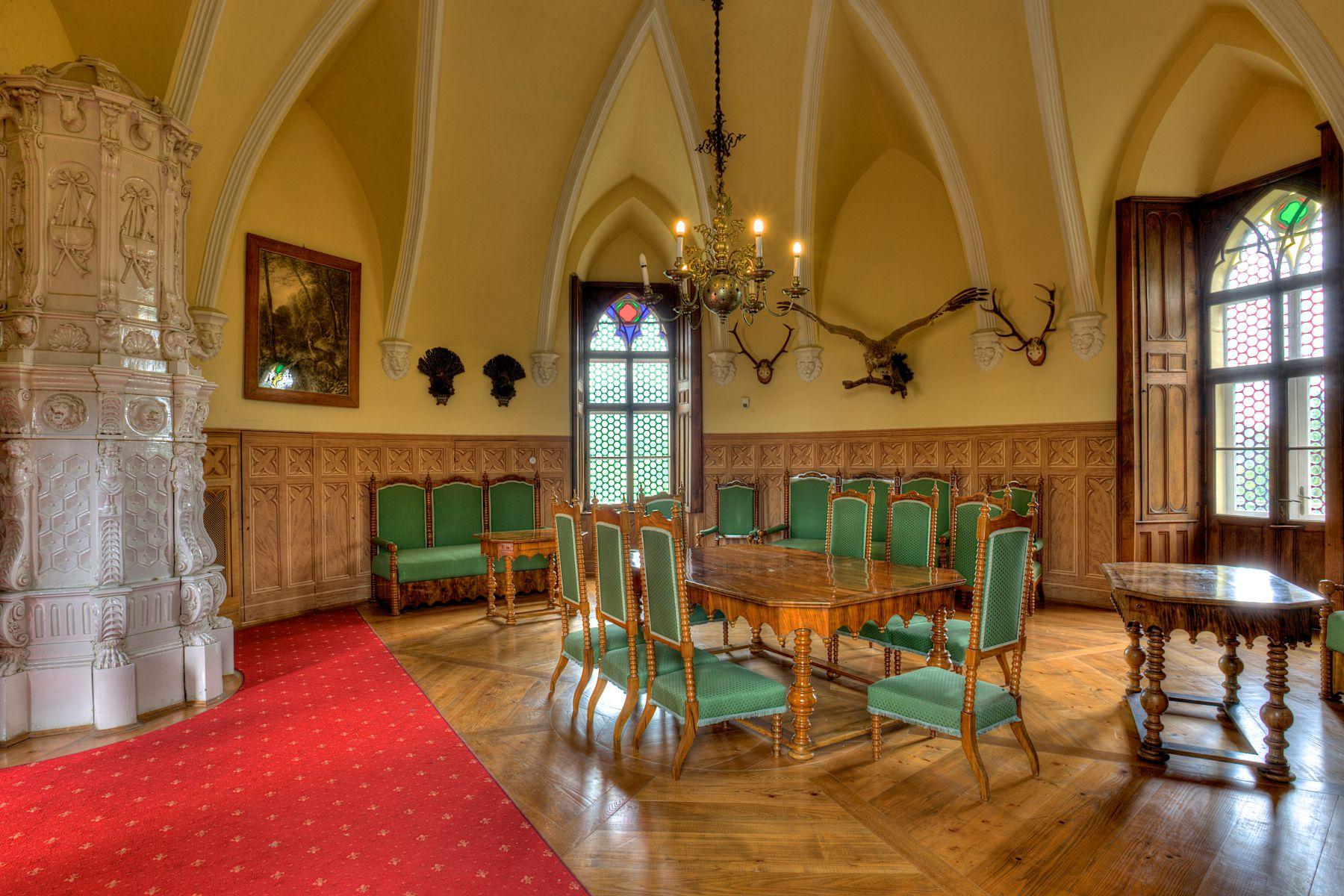 Hunting room, photo credit by Trakošćan museum