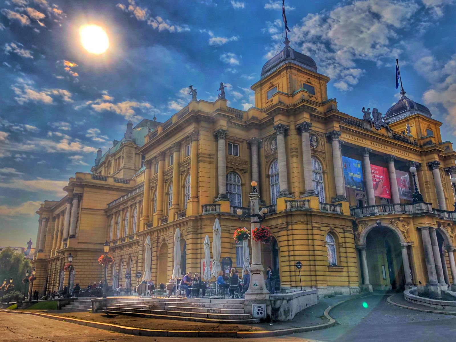 National Theatre, Zagreb, Photo by M. Švarc