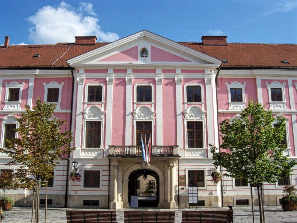 Varaždin, Croatia, County headoffice