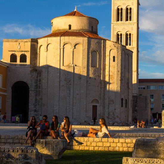 St. Donatus, Zadar, Croatia, photo by Mladen Radolović Mrlja, photo credit by TB of city of Zadar