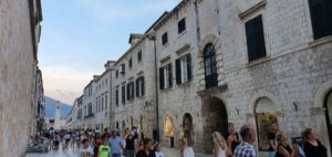 Stradun, main street in Dubrovnik, Croatia, photo by croatia2go.com